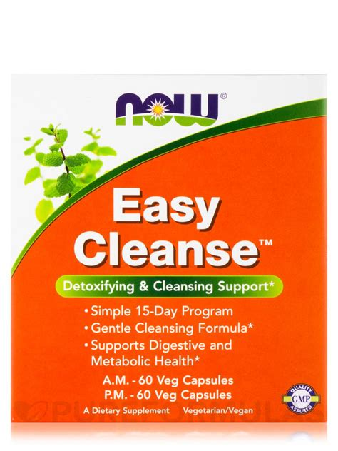 Easy 5 Day Detox Cleanse by Easy Cleanse 120 Vegetarian Capsules