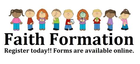 Lovely How To Make A Church Directory #8: Children-faith-formation-clipart-1.jpg
