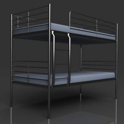 Ikea Svarta Bunk Bed Ikea Svarta Bunk Bed 3d Model Formfonts 3d Models Textures