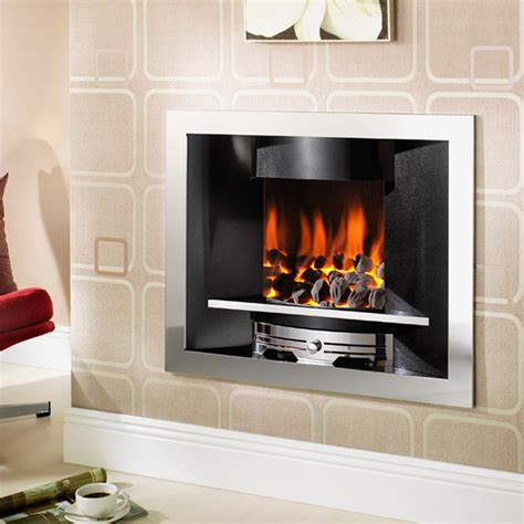 modern in the wall gas fires contemporary fires emerald in the wall