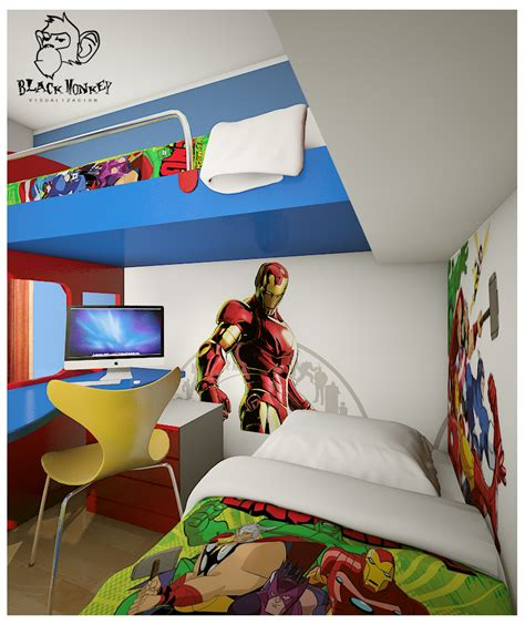 iron man bedroom bedroom fancy boy bedroom decoration with iron man