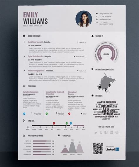 infographic resume template free word infographic resume templates free premium templates forms sles for jpeg png