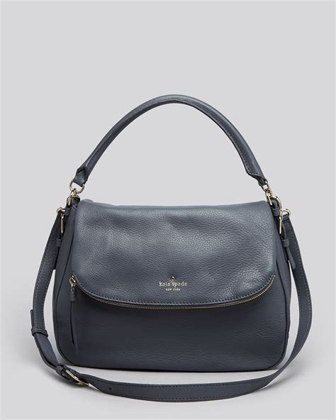 kate spade l home goods lyst kate spade new york satchel cobble hill devin in gray