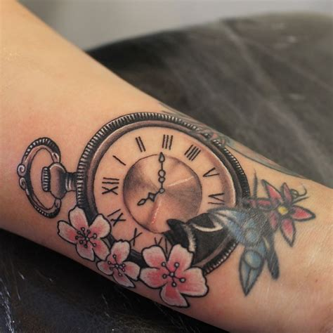 steunk clock tattoo 28 pocket steunk design 75 brilliant