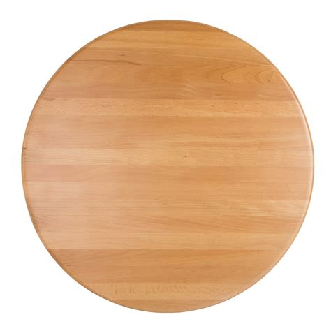 """Jaxpro NSWT36R 36"""" Round Table Top   Solid Beechwood w/ Natural Finish"""