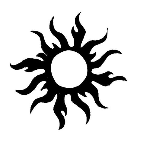 tribal sun tattoos 45 amazing tribal sun tattoos ideas and designs