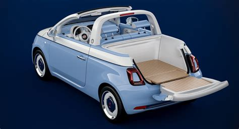 new 500 spiaggina 58 is fiat s way of paying tribute to