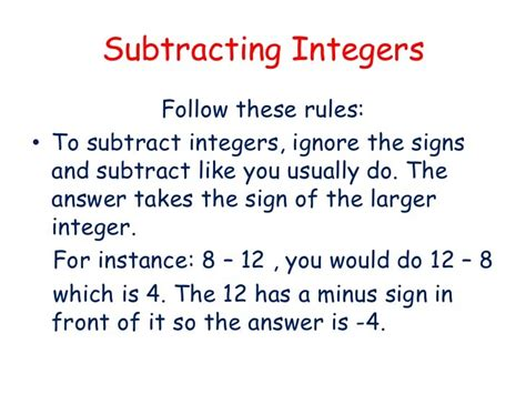 pattern rule for integers notes mathematics form 1
