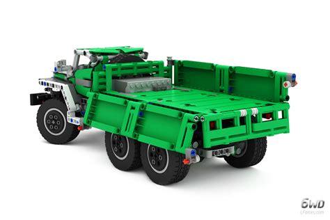 lego truck lego technic truck 6wd bm 21 grad rocket launcher