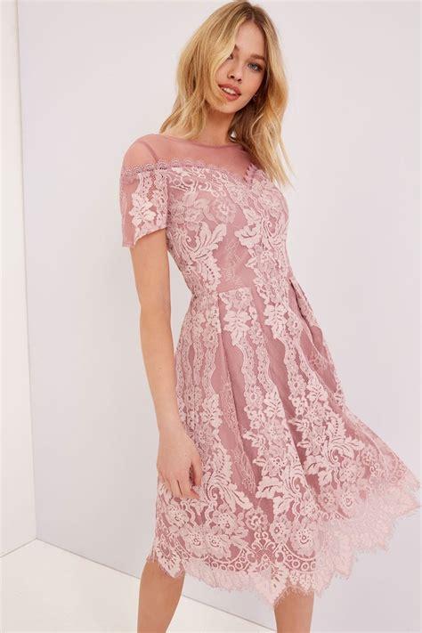 Dress Pretty Dusty Pink dusty pink lace dress from uk