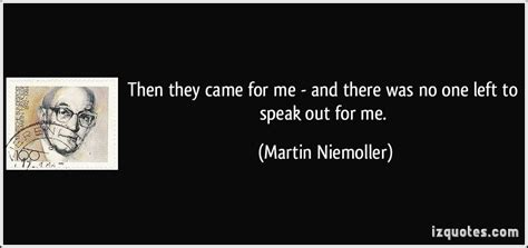 no one left to martin niemoller cover photo quotes quotesgram