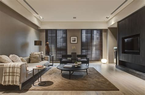 Neutral Living Room Apartment Two Chic Apartments With Adaptable Home Style
