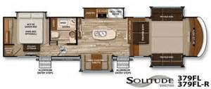rushmore rv floor plans 2017 grand design solitude 379fl front living fifth wheel