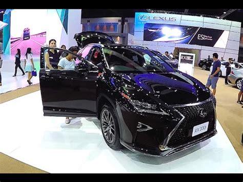 lexus crossover black crossover lexus rx 200t 2016 2017