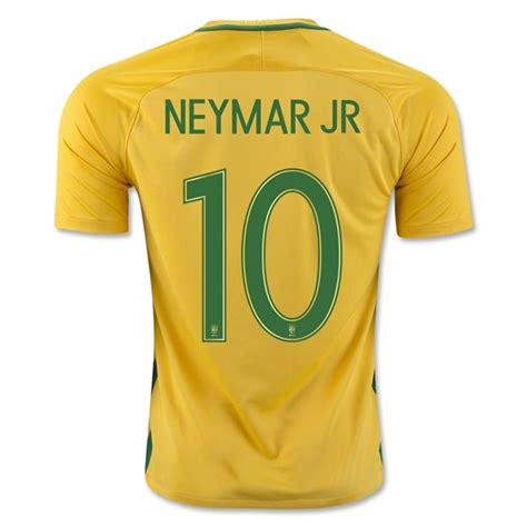 Jersey Sepakbola Cbf Brazil Jersey Sepakbola Cbf Brazil No 10 Neymar Jr Size L Yellow Jakartanotebook