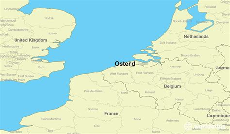 where is belgium on the map where is ostend belgium ostend flanders map