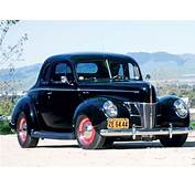 Ford De Luxe Coupe Liftback 1940