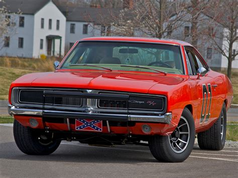 1969 Dodge Charger General Lee muscle hot rod rods stunt