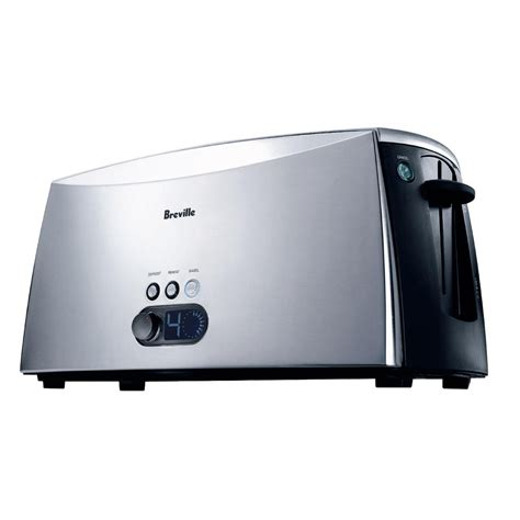 Brevelle Toaster Breville Ikon Lift And Look Toaster 4 Slice The Green Head