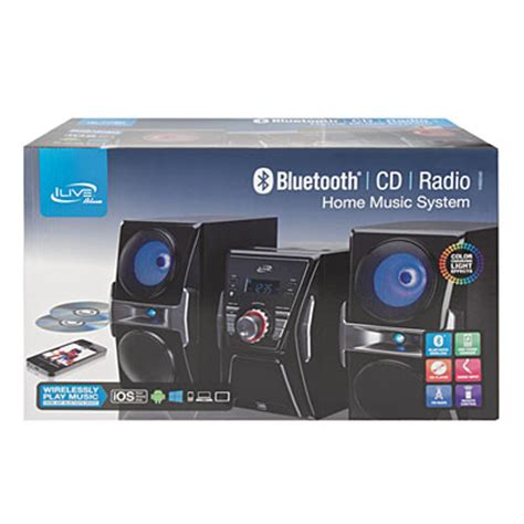 ilive bluetooth 174 home system big lots