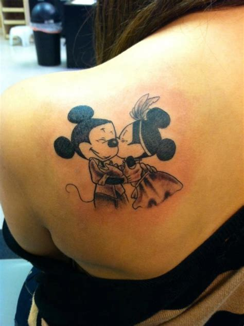 minnie and mickey tattoos mickey mouse tattoos page 2
