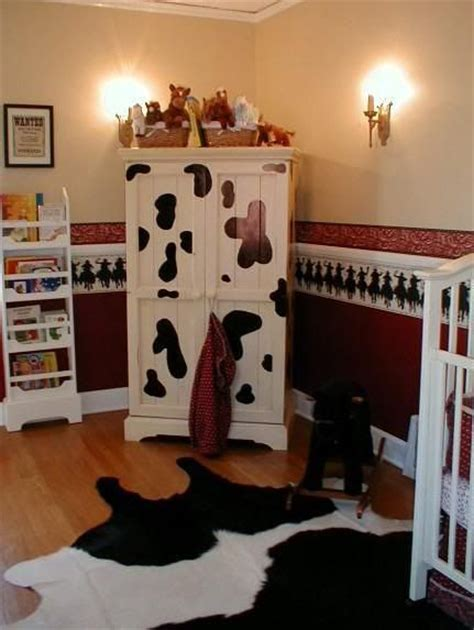 cow room decor cow prints baby boy one day