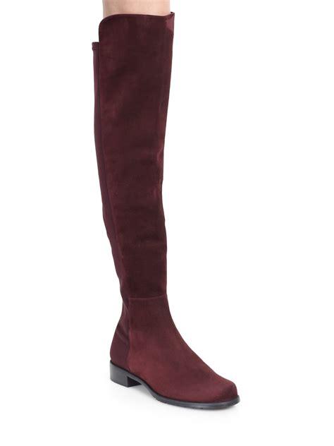 stuart weitzman the knee boots stuart weitzman 5050 suede the knee boots in