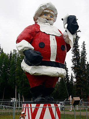 quirky attraction world s largest santa claus statue 38 best north pole alaska images on pinterest arctic