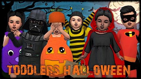 sims 4 halloween costumes the sims 4 create a sim toddlers halloween costumes