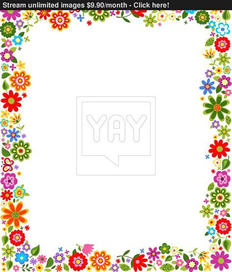 flower border pattern floral pattern border