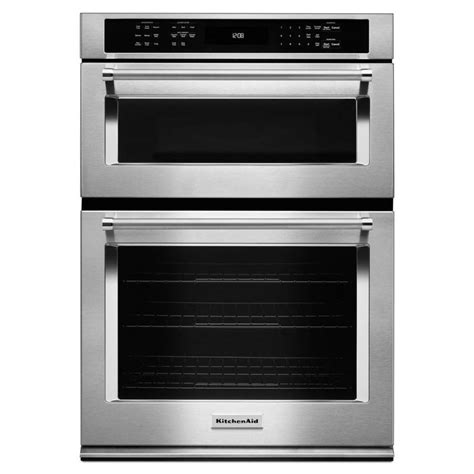 kitchenaid koce500ess 30 in self cleaning microwave