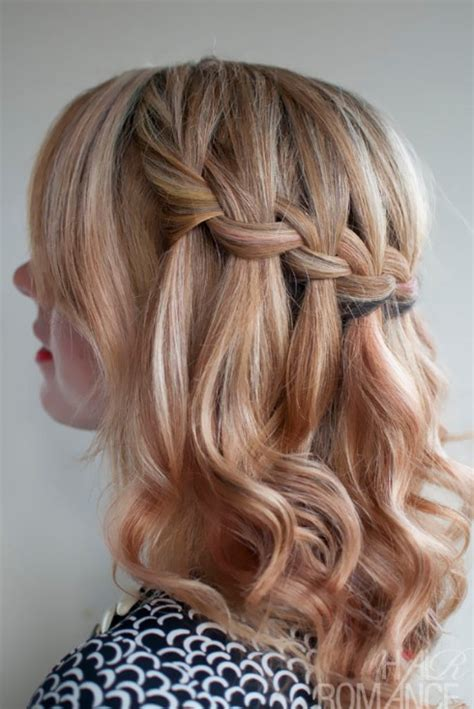 hair do curly and kepang the waterfall braid popular hairstyles for 2013