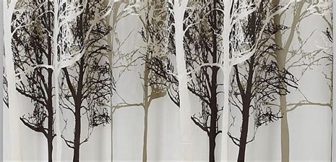 tree design curtains shower curtains tree home decoration club