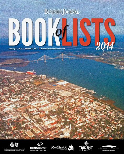 family business v the atonement volume 5 books 2014 charleston book of lists by sc biz news issuu
