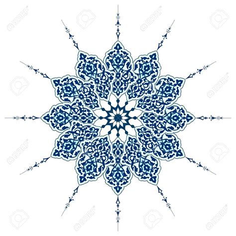islamic pattern clipart vector of traditional persian arabic turkish islamic