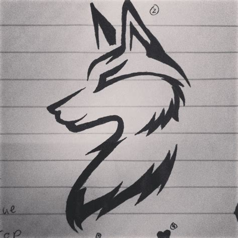 simple wolf tattoo wolf idea tattoos wolf tattoos