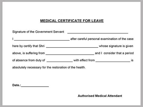 medical certificate template 20 free word pdf