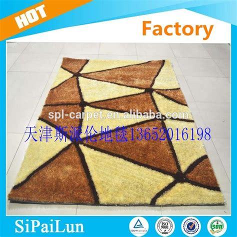 Karpet Lantai Gulungan pola segitiga polyester karpet tangan dan bisa dicuci