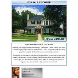 Home For Sale By Owner Flyer Template by Free Exles Of Advertising Flyers Free Flyers