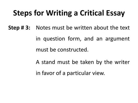 Steps To Write An Argumentative Essay by How To Write An Argumentative Essay Step By Step