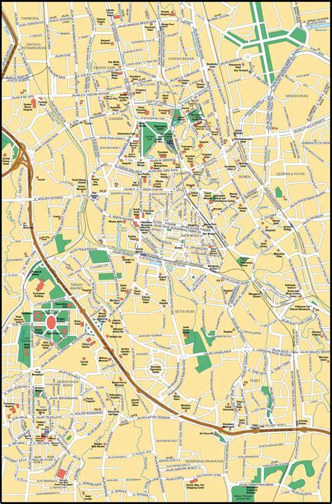 map  jakarta city maps  indonesia planetologcom