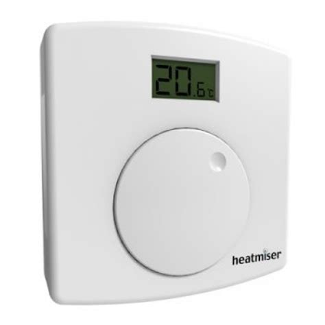 Heat L With Thermostat heatmiser ds1 l central heating thermostat with lcd digital room thermostats