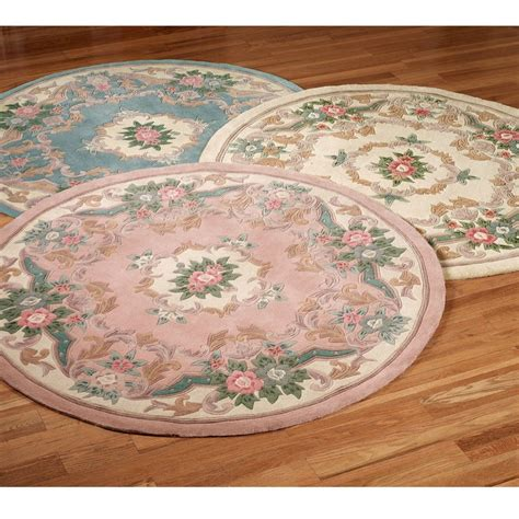 shabby chic rugs shabby chic blue aubusson rug cream with