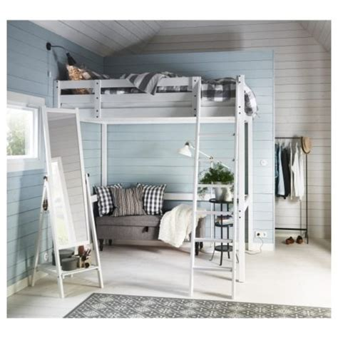 Storå Loft Bed Frame Black Stor 229 Loft Bed Frame Black For Home Get Furnitures For Home