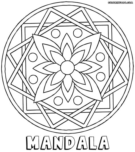 rectangle mandala coloring pages rectangle mandala coloring pages sketch coloring page