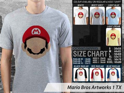 Kaos Mario Bross Mario Artworks 16 kaos mario bross kaos mario bross nintendo kaos