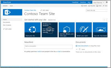 using templates to create different kinds of sharepoint