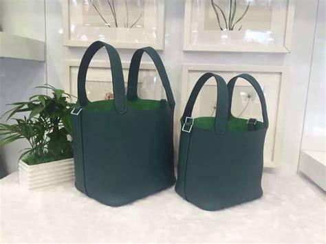 Tas H Picotion Bag In Bag wholesale hermes z6 malachite green togo leather picotin lock bag 18 22cm hermes