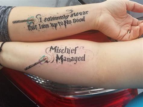 mischief managed tattoo 1000 ideas about mischief managed on
