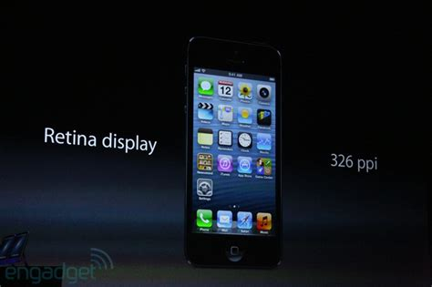 Apple 4 Retina Display apple announced the new iphone 5 details itech vision